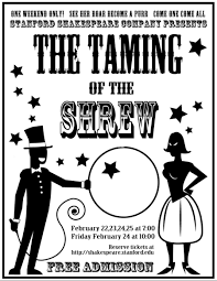 stanshakes presents the taming of the shrew this