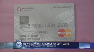 Hawaiian Airlines Launches New Credit Card Current Accounts