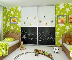 magnetic paint on top and chalkboard paint on bottom A Room With