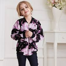 children autumn and winter jackets new vogue candydoll hot erfly printing top quality girls coat