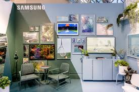 Design With Samsung Merges Art And Design With The Frame And The Serif