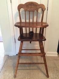 antique wooden high chairs for es