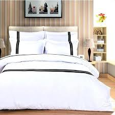 aliexpresscom pure color home textile 4pcs embroidered hotel bedding set white blue duvet cover bedclothes