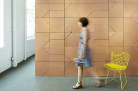 office feature wall. Lisboa Cork Feature Wall Tiles By Spinnneybeck In Office R