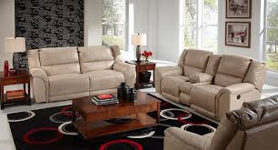 reclining living room furniture sets. Carmine Lay Flat Reclining Living Room Set (Pebble) Reclining Living Room Furniture Sets