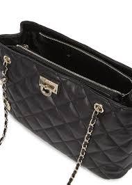 Lyst - Dkny Gansevoort Black Quilted Shoulder Bag in Black & Gallery Adamdwight.com