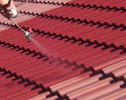repainting a concrete tile roof in melbourne