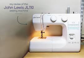 John Lewis Janome Sewing Machine