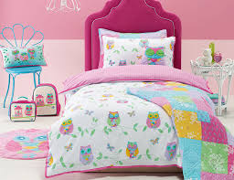 owl toddler bedding quilt