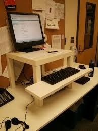 Home Design:Portable Ikea Standing Desk Hack Derektime Design Ikea ikea  standing desk hack