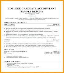 College Graduate Resume Examples Sarahepps Com