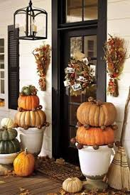 fall front door decorations50 Fall Front Door Dcor Ideas  family holidaynetguide to