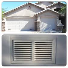 garage door ventilation aluminum intake air vent cool my