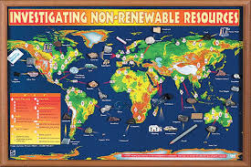 Chart On Renewable And Nonrenewable Resources Investigating Non Renewable Resources Chart