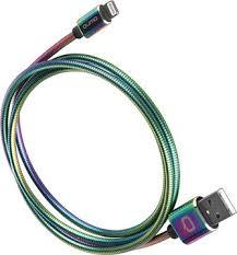 Купить <b>Кабель Qumo USB to</b> Apple Lightning 1m Color по ...