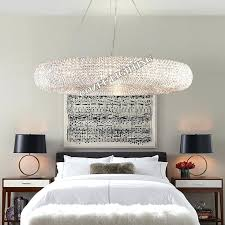 crystal halo chandelier modern chandeliers lighting round crystal chandelier halo hanging light for home hotel living