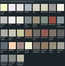 Georgia Pacific Vinyl Siding Color Chart Vinyl Siding Colours And Styles Tcworks Org
