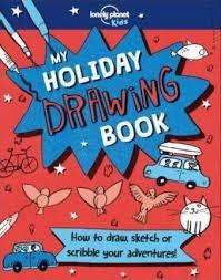 my holiday drawing book