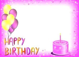 Happy Birthday Word Template Card Templates Happy 21st Birthday Cake
