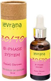 Face serum biphasic 30/70, with Damask rose oil <b>LEVRANA</b> 30ML ...