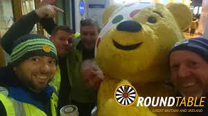 the guys at stirling bridge and allan round table were busy collecting at local train stations for children in need and had a brilliant day and raised over