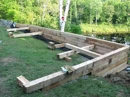 inexpensive retaining wall ideas garden retaining wall ideas uk