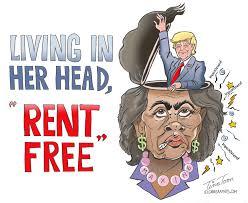 Trump Living In Her Head Rent Free
