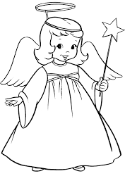Small Picture coloring pages angel online for preschool print out adults