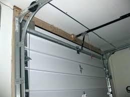 low headroom garage door