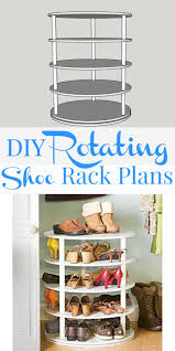 How To Make A Shoe Rack Remodelaholic Rotating Shoe Rack Building Plan
