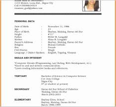 Job Resume Samples For College Students Good Examples Template A
