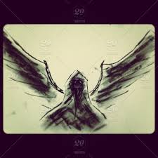 Angel Sketch Fallen Angel Sketch Stock Photo Ig