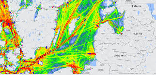 Baltic Sea Ship Traffic Ais Ship Traffic