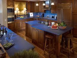 Blue Kitchen Decorating Blue Kitchen Countertops