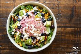 my customized salad at panera