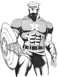 Small Picture Captain America Coloring Pages Ppinewsco
