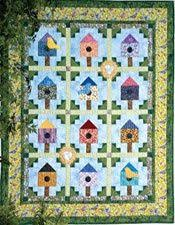 Tweeting Trio: Tabletop Birdhouse Quilt Patterns Designed and ... & Tweeting Trio: Tabletop Birdhouse Quilt Patterns Designed and Machine  Quilted by KAREN COMSTOCK, fully patterned in McCall's Quick Quilts  June/Jul… Adamdwight.com