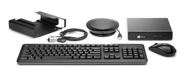 hp skype for business conference room pc vesa mount speakerphone mini keyboard and mouse