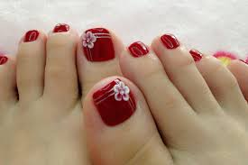 Simple Pedicure Nail Art | Simple Pedicure Nail Art Photos