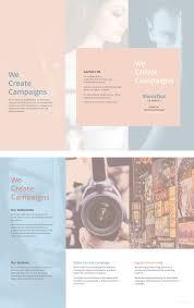 Blank Tri Fold Brochure Templates 31 Free Psd Ai Vector