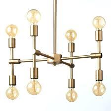 modern gold chandelier leaf interiors white dining room i