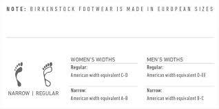 Birkenstock Size Conversion Chart Birkenstock Fitting Guide Austins Shoes