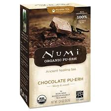 Numi <b>Organic Puerh Chocolate Puerh Tea</b>, 16/Box (NOT10360 ...