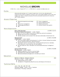 Job Resume Examples Resume Outline Examples Simple Job Resume Examples Resume Outline 6