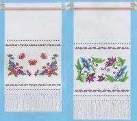 «<b>Набор для вышивания</b> - Рушник <b>Чаривна</b> Мить Цветочный узор ...