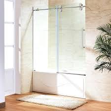 frameless shower doors bathtubs sliding glass