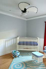 ceiling fans for baby girl nursery fan room within chandelier architecture