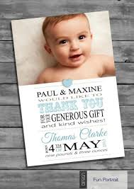 Baby Boy Thank You Cards Personalised Baby Boy Thank You Card Packs Of Ten Ebay Poses