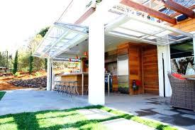 garage doors used glass garage doors kitchen and sectional glass garage doors used in modern designs garage doors