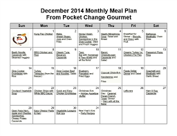 Meal Budget Planner Family Monthly Meal Planner Magdalene Project Org